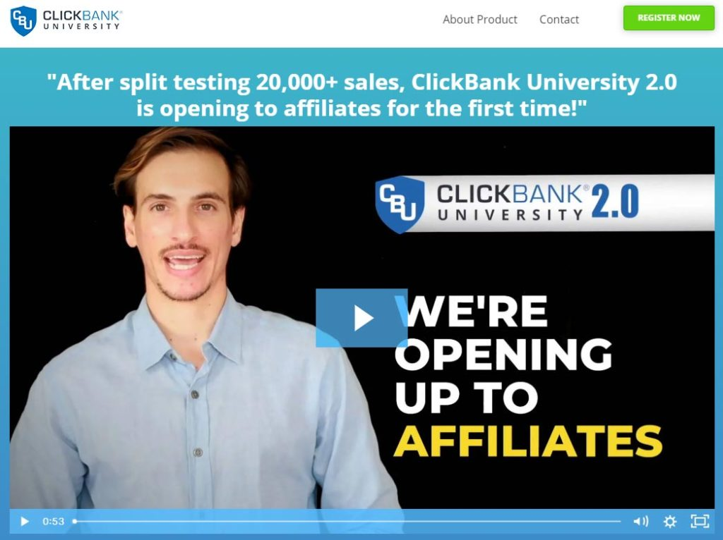 clickbank university online course