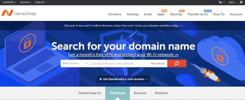 where to buy domain name