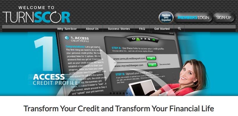 turnscor credit repair service near me