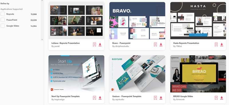 envato elements presentation templates