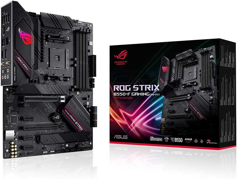 asus rog strix b550 f gaming motherboard